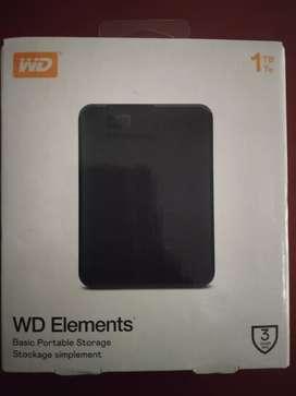 WD - 1 TB External HDD