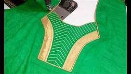 Ladies suit stitching