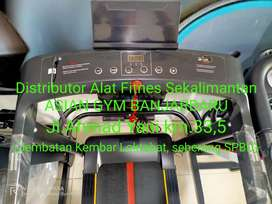 Treadmill elektrik tampilan simple elegan 4 fungsi manual incline