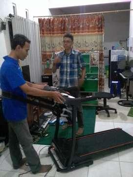 5 fungsi treadmill elektrik maxfitt 60 massager prinsporty