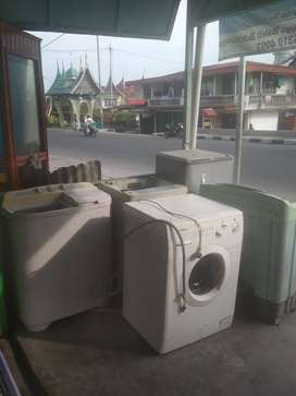 Servis mesin cuci kulkas AC kompor dll..