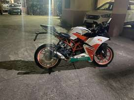 Well maintained KTM Rc 200