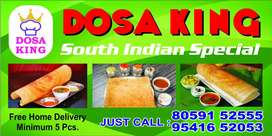 Need a cook who expert to make dosa idle,vada  etc