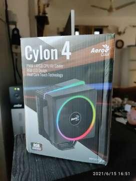 Cylon 4 LED ARGB CPU cooler