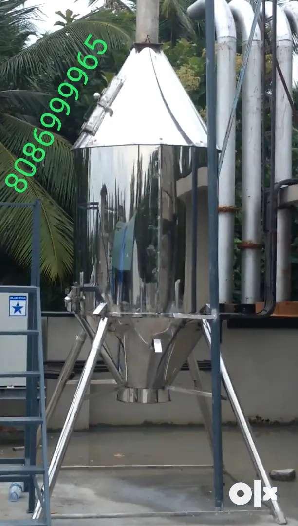 Waste Incinerator(stainless steel),മാലിന്യസംസ്കരണ പ്ലാന്റ് 0