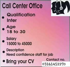 Hiring agents for call centre