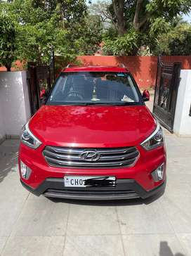 Army Officers Well maintained Creta Auto Petrol