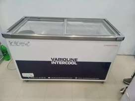 Commercial use deep freezer for sale Glass lid urgent for sale