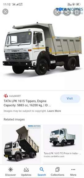 Truck required for mines and tata company