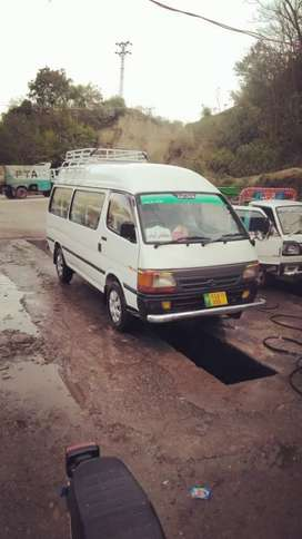 toyota hiroof for rent