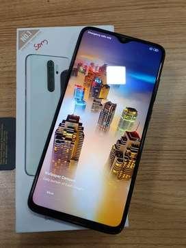 Mi Note 8 pro 6GB 128GB warranty till January 2021