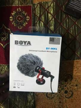 Boya Microphone By-MM1 Complete Box