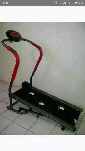 Treadmill manual 2 fungsi TL 002