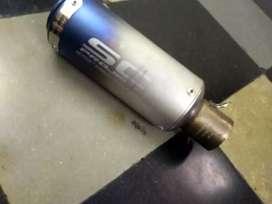 Exhaust sc projecter