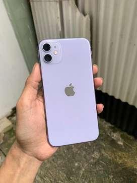 Iphone 11 64gb fullset mulus