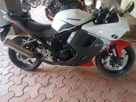 Hyosung gt250r brand new condition not single scratch