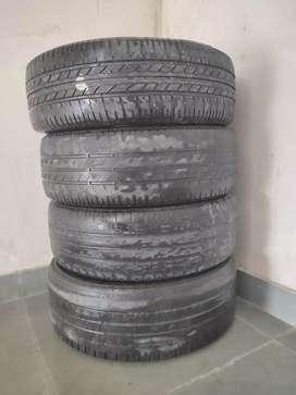 Hyundai Verna Goodyear & BridgeStone Tyres for sale 195/55R16