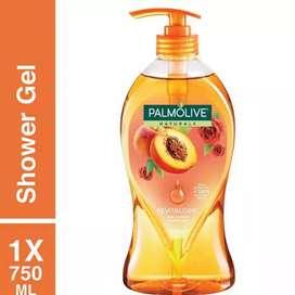Palmolive Sabun Mandi Revitalising Orange Peach & Rose 750 ml