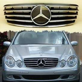 Mercedes Benz W211 Front AMG Show Grill