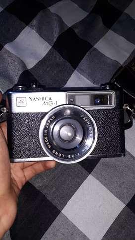 FS Kamera Analog Yashica MG-1 Rangefinder 35mm