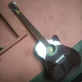 Acountic Guitar with Guitar bag.