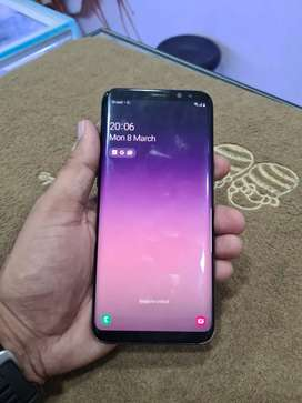 S 8 plus curved screen