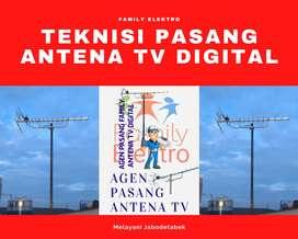 Paket Spesialis Pasang Baru Antena Tv Biar Jernih Antenna 3-43'