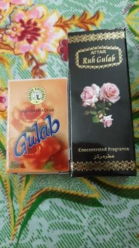 Pure attar fragrance oils