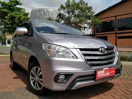 Toyota innova g at 2015 km 6000 tdp 50 atau angs 3,5