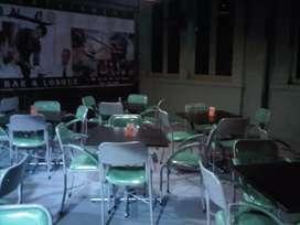 Di jual meja dan kursi untuk usaha cafe dan lain2.
