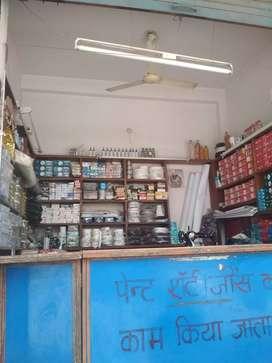Residential and main road location shop at nehru nagar