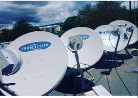 Parabola mini Indovision Mnc Vision kota Palu free Instalasi