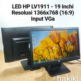 LED Monitor  HP LV1911 Layar 19 Inchi Wide