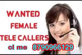 Wanted female telecallers only