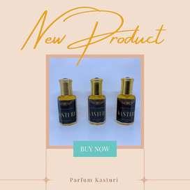 Parfum Minyak Kasturi
