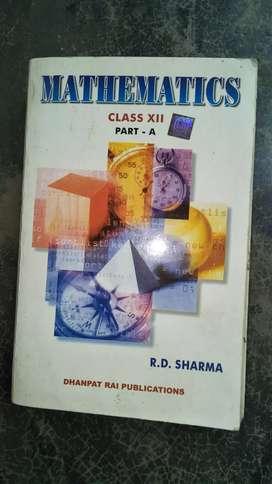 Mathematics rd sharma class12