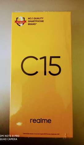 Realme C15, Brand new Sealed mobile - 9000 Only - FREE HOME DELIVERY