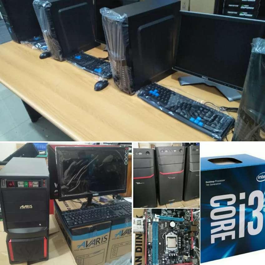 Komputer rakitan core i3 elegan Utk kantor,Sekolahan,Admin,editor DLL 0