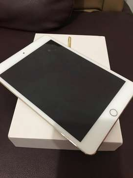 Ipad mini 4 64gb gold fullset