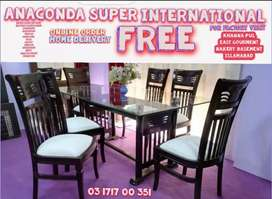 Dining Table Set Hi Class Center Table and Wood Furniture Factory