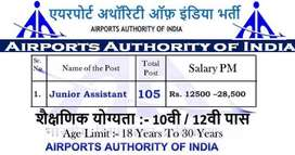 10th 12th Graduate Pass(m) in (Airport Job) Fresher