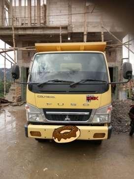 Mitsubishi coltdiesel SHDX dump truk