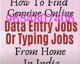 Computer typing job work from home