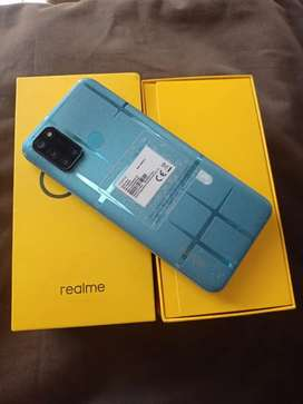 Realme C17 6gb/128gb with 6 months warranty , complete box and accesso