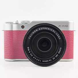 Kredit Kamera FujiFilm X-A10 Tanpa Dp Gratis 1X Cicilan