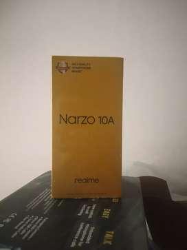 Realme narzo 10a seal pack 3/32gb