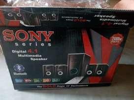 Sony series digital 4.1 multiple speaker