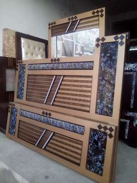 New Bed and Dressing Available. M. Ahmed Furnishers and Sofa House