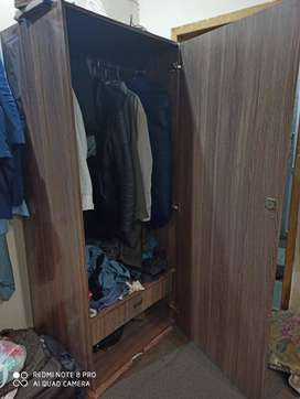 Wooden Cupboard/Wardrobe/Almari