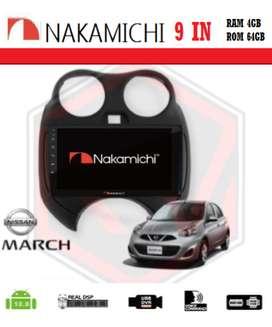 """HEAD UNIT NAKAMICHI NA-3102i Android 9""""RAM 4-64gb MARCH 2010"""